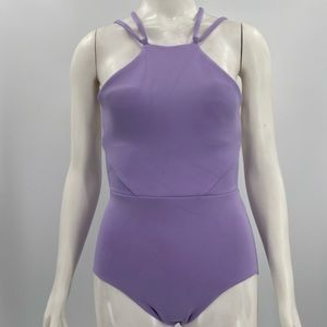 CLEO HARPER One piece Swimsuit Size 4 Orchid